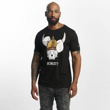 Who Shot Ya? T-Shirt Viking schwarz