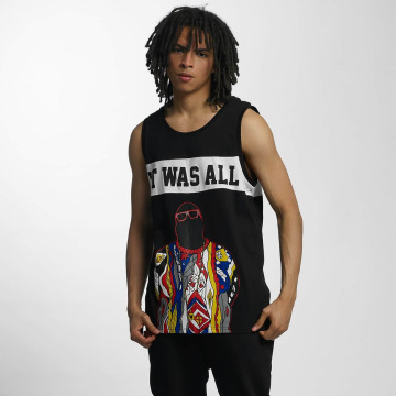 Who Shot Ya? Tank Tops Biggie черный