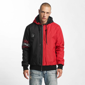 Who Shot Ya? Winterjacke WhoReady rot