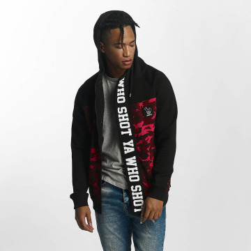 Who Shot Ya? Zip Hoodie BigWho red