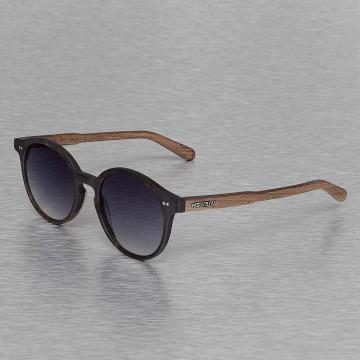 Wood Fellas Eyewear Очки Eyewear Solln Polarized Mirror коричневый