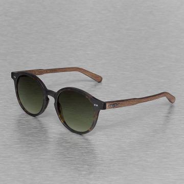 Wood Fellas Eyewear Lunettes de soleil Eyewear Solln Polarized Mirror brun
