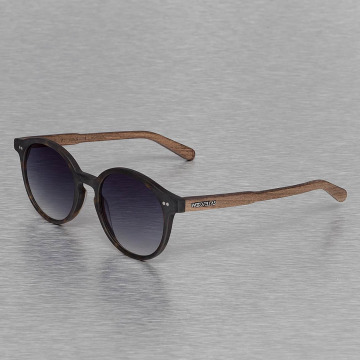 Wood Fellas Eyewear Lunettes de soleil Eyewear Solln Polarized Mirror brun