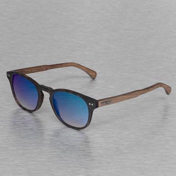 Wood Fellas Eyewear Lunettes de soleil Eyewear Haidhausen Polarized Mirror brun