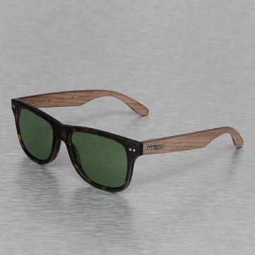 Wood Fellas Eyewear Lunettes de soleil Eyewear Lehel Polarized Mirror brun
