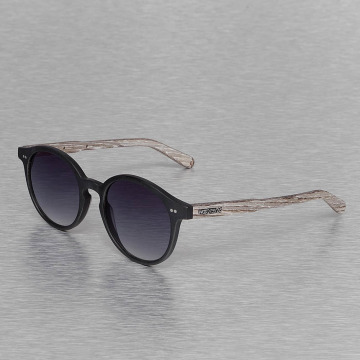 Wood Fellas Eyewear Lunettes de soleil Eyewear Solln Polarized Mirror noir