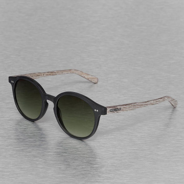 Wood Fellas Eyewear Lunettes de soleil Eyewear Solln Polarized Mirror noir