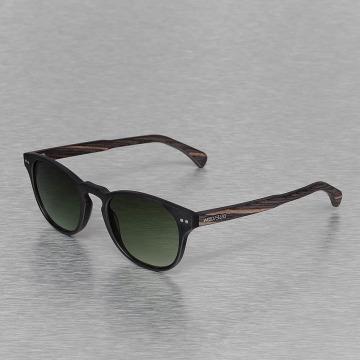 Wood Fellas Eyewear Lunettes de soleil Eyewear Haidhausen Polarized Mirror noir