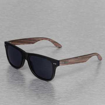 Wood Fellas Eyewear Lunettes de soleil Eyewear Lehel Polarized Mirror noir