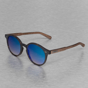 Wood Fellas Eyewear Okulary Eyewear Solln Polarized Mirror brazowy