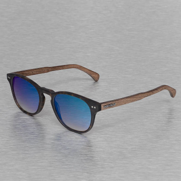 Wood Fellas Eyewear Okulary Eyewear Haidhausen Polarized Mirror brazowy