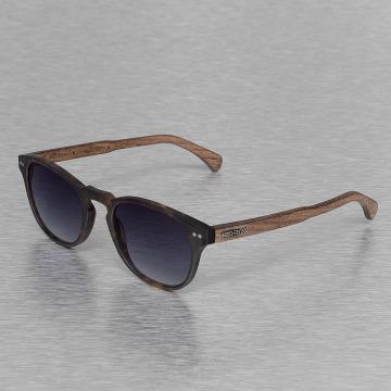 Wood Fellas Eyewear Okulary Eyewear Haidhausen Polarized Mirror brazowy