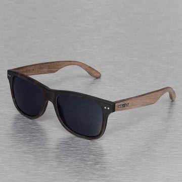 Wood Fellas Eyewear Okulary Eyewear Lehel Polarized Mirror brazowy