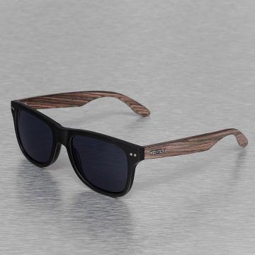 Wood Fellas Eyewear Okuliare Eyewear Lehel Polarized Mirror èierna