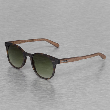 Wood Fellas Eyewear Solglasögon Eyewear Schwabing Polarized Mirror brun