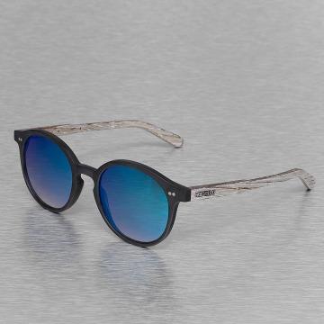 Wood Fellas Eyewear Solglasögon Eyewear Solln Polarized Mirror svart