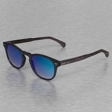 Wood Fellas Eyewear Solglasögon Eyewear Haidhausen Polarized Mirror svart