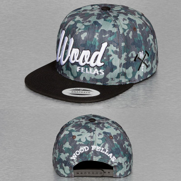 Wood Fellas Snapback Cap Da Wood camouflage