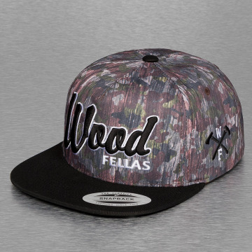 Wood Fellas Snapback Caps Da Wood kirjava