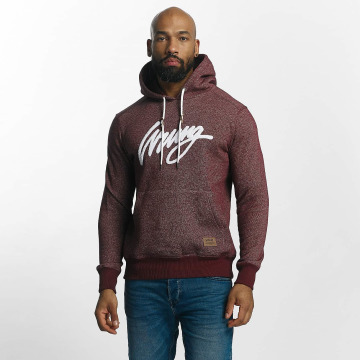 Wrung Division Hoodies Heather Sign rød