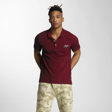 Wrung Division Polo Signature rosso