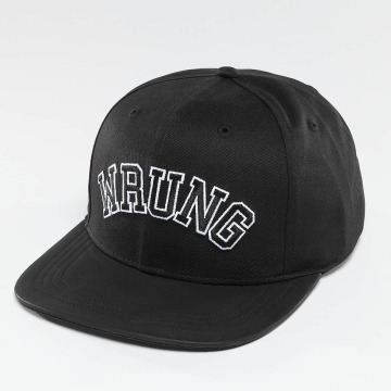 Wrung Division Snapback Cap Block black
