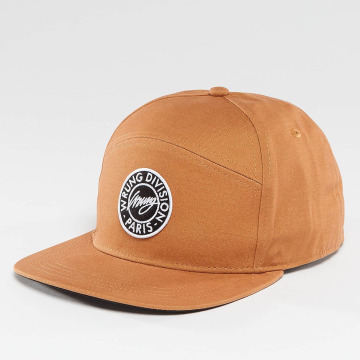 Wrung Division Snapback Cap Work braun