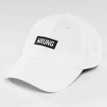 Wrung Division Snapback Cap Small Box weiß