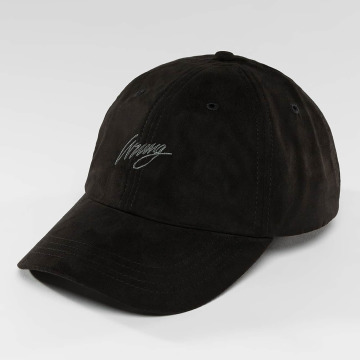 Wrung Division Snapback Caps Daim czarny