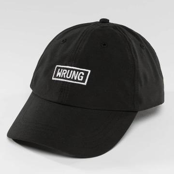 Wrung Division Snapback Caps Small Box czarny