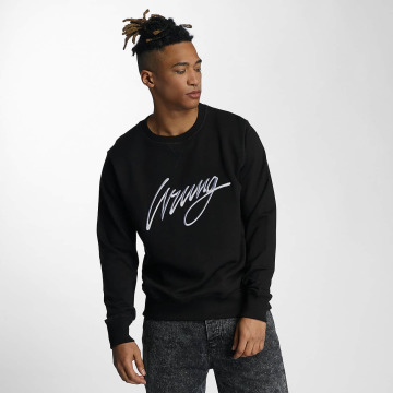 Wrung Division Sweat & Pull Sign noir