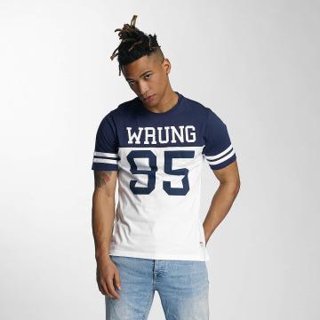 Wrung Division T-Shirt Beast bleu