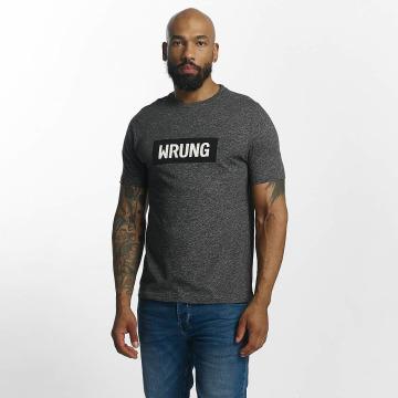 Wrung Division T-Shirt Box Logo gris