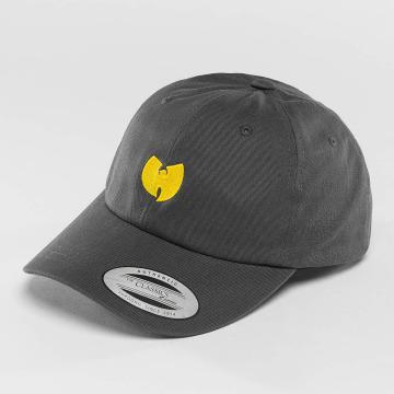 Wu-Tang Snapback Cap Logo Dad grau