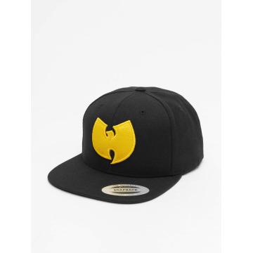 Wu-Tang Snapback Caps Logo czarny