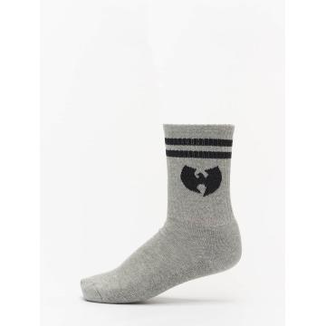 Wu-Tang Sokken Logo grijs