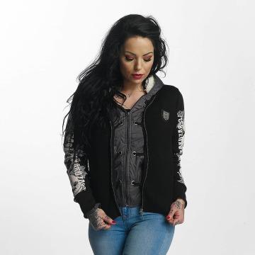 Yakuza Зимняя куртка Skull Teddy Jacket черный