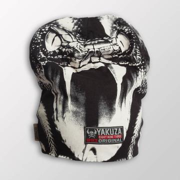 Yakuza шляпа Allover Snake II серый