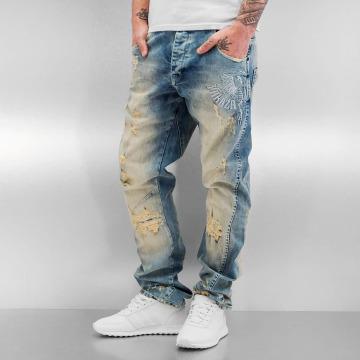 Yakuza Antifit jeans Skeleton Anti Fit blå