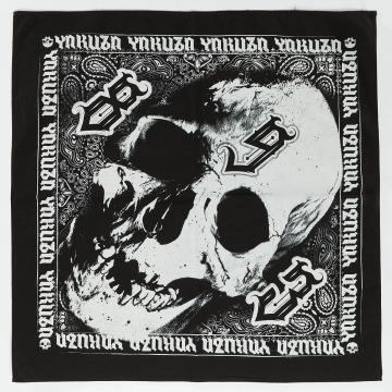 Yakuza Bandana-huivit Skull musta