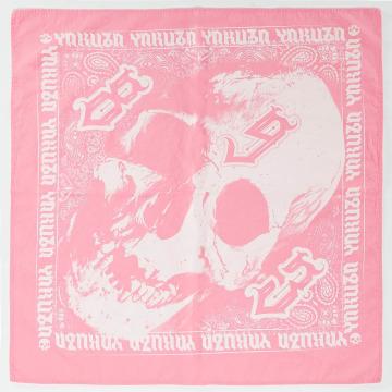 Yakuza Bandana-huivit Skull vaaleanpunainen
