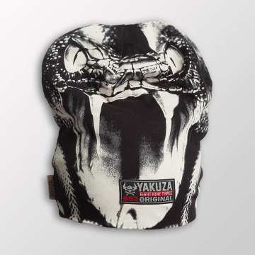 Yakuza Beanie Allover Snake II grey