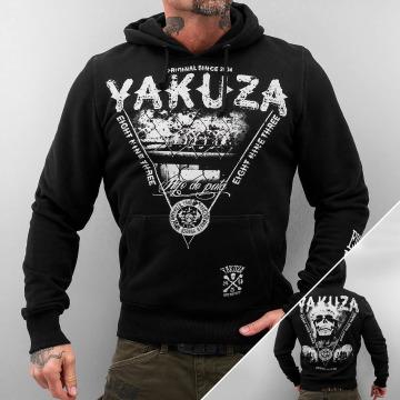 Yakuza Bluzy z kapturem Mexican czarny