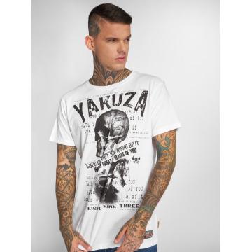 Yakuza Camiseta Love Hate blanco