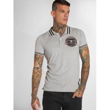 Yakuza Camiseta polo Pretty Far gris