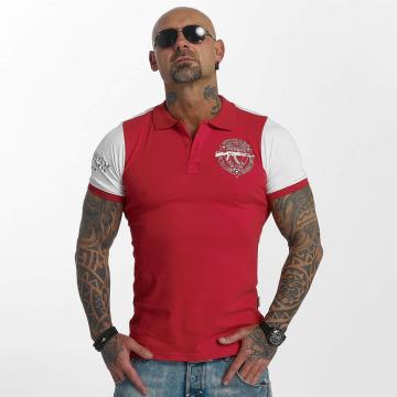 Yakuza Camiseta polo AK Two Faces rojo