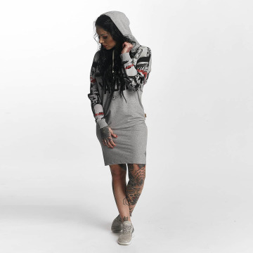 Yakuza Dress Sick N Fuck gray