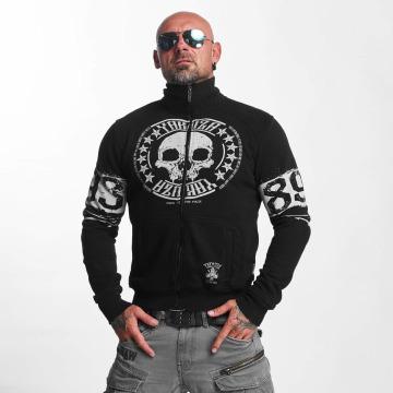 Yakuza Giacca Mezza Stagione Skull Label nero