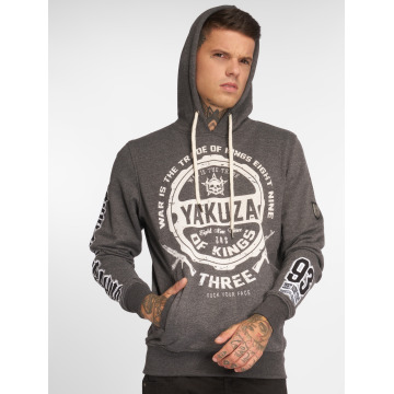 Yakuza Hoodie Trade Of Kings grå