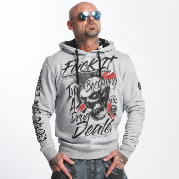 Yakuza Hoodie Drug Dealer grey
